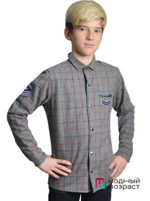 Рубашка утепленная для мальчиков